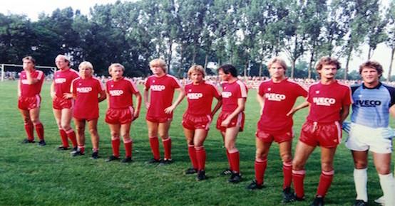 Spiel gegen den FC Bayern im Jahre 1983